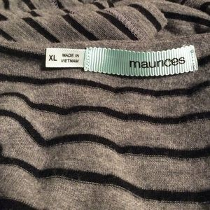 Maurices Tops - Maurices Striped Pocket Tee